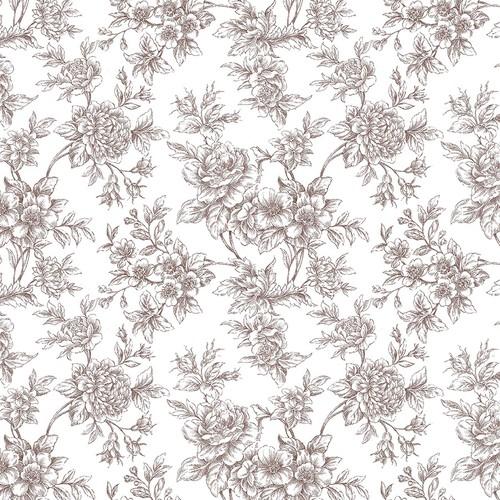 Mot Çiçekli Duvar Kağıdı 10-006502