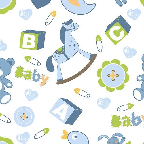 Mot Çocuk Odası Duvar Kağıdı 10-009001