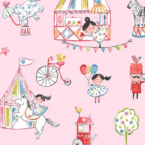 Mot Çocuk Odası Duvar Kağıdı 10-011001