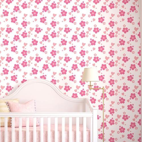 Mot Çocuk Odası Duvar Kağıdı 10-010101