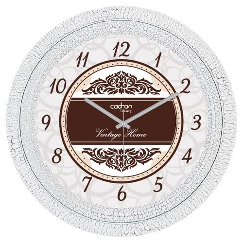 Cadran Lu x ury Dekoratif Çatlak Desen Duvar Saati Cl226