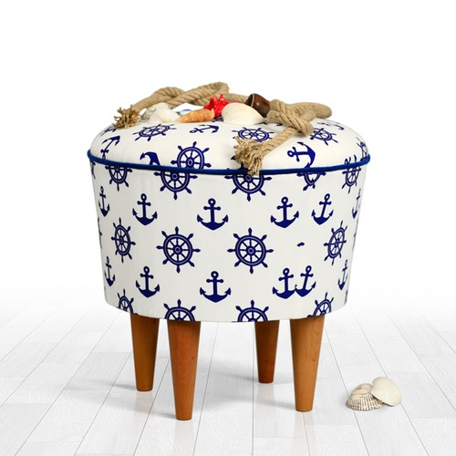 Lorence Home Cunda Puf Sailor