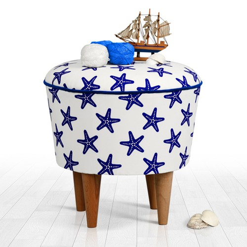 Lorence Home Cunda Puf Deniz Yıldızı
