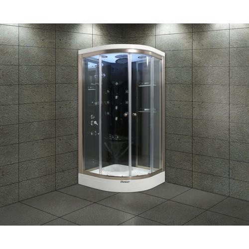 Shower Aqua SW-2250 SİSTEM 1 SİYAH