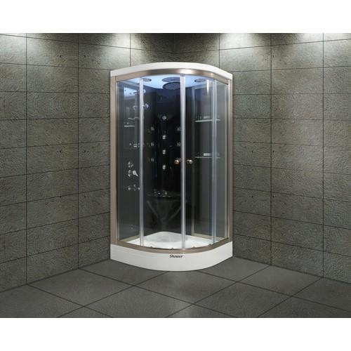 Shower Aqua SW-2252 SİSTEM 3 SİYAH