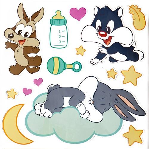 Smartdeco Baby Looney Tunes 2 - Yapışkanlı Sticker