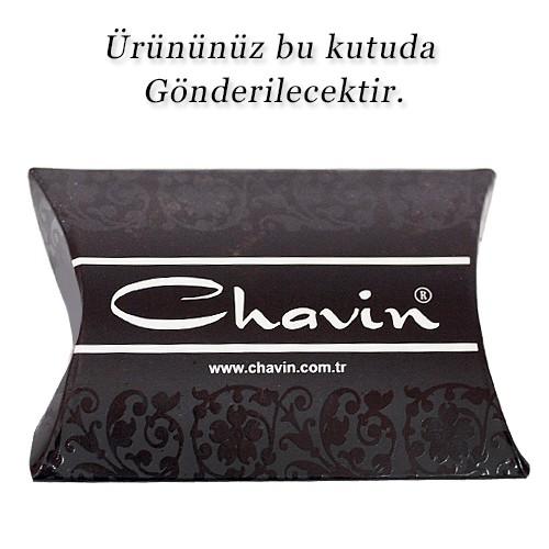 Chavin Unisex Yuvarlak Siyah 5mm Taşlı Çelik Küpe cm24-5
