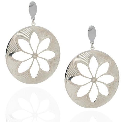 Chavin Çiçek Çelik Küpe be68