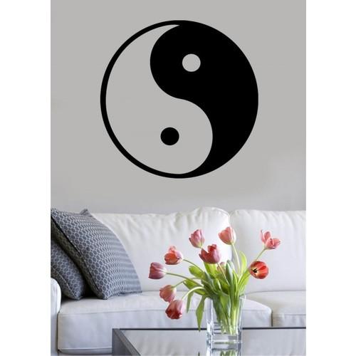 Özgül Grup Özgül Grup Yin Yang Duvar Sticker | 80x80 cm