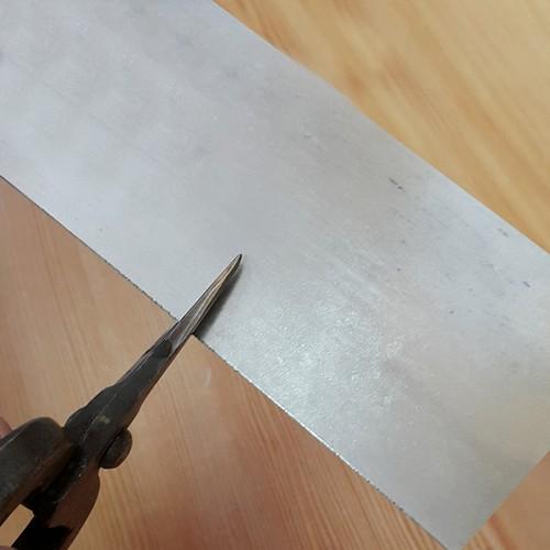 60 Mikron 925 Ayar Gümüş Astar Malzeme 6cm Genişlik df43