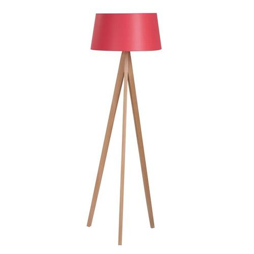 Limbo Home Tripod Ahşap Lambader - Kırmızı Şapka