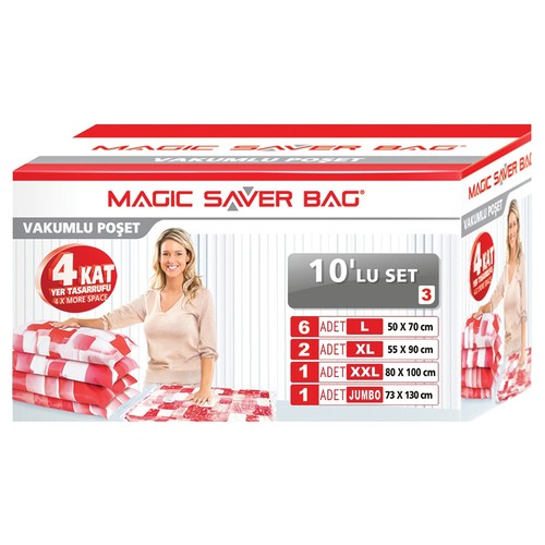 Magic Saver Bag 10 Lu Set - 3
