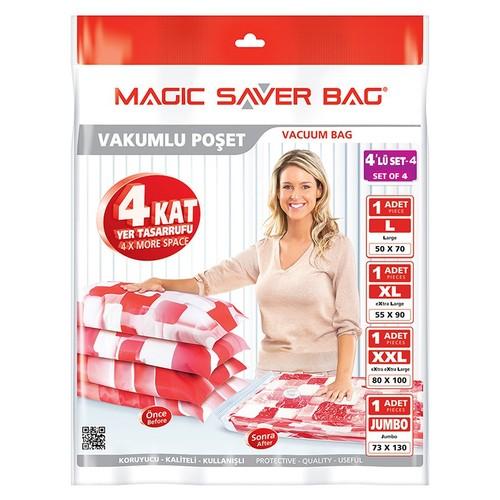 Magic Saver Bag 4 Lü Seyahat Seti - 4