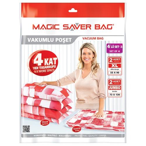 Magic Saver Bag 4 Lü Seyahat Seti - 3