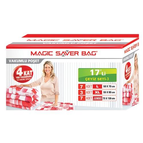 "Magic Saver Bag 17 Li ""Çeyiz Seti"" -3"