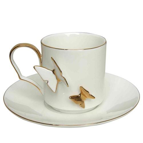 Vitale Kelebek 6'lı Çay Seti