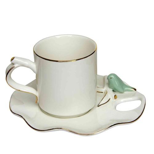 Vitale Serçe 6lı Çay Fincan Seti