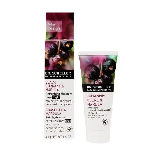 Dr. Scheller Black Currant & Marula Refreshing Moisture Care Night 40G - Nemlendirici Gece Kremi (Tüm Ciltler)