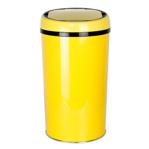 Hiper Sensörlü Çöp Kovası 12 Lt Sarı