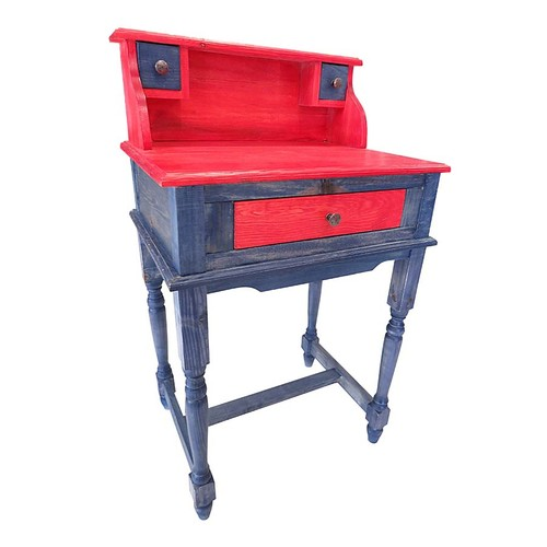 N'Crea Home Yazı Masası Kırmızı
