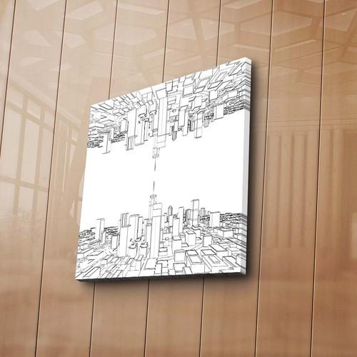 Özgül Grup Geometrik Şekiller Boyama Tablosu 12 'Li Keçeli Kalem Hediye 66