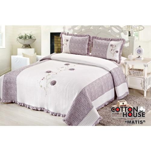 Cotton House Angel Çift Kişlik Yatak Örtüsü - Matis