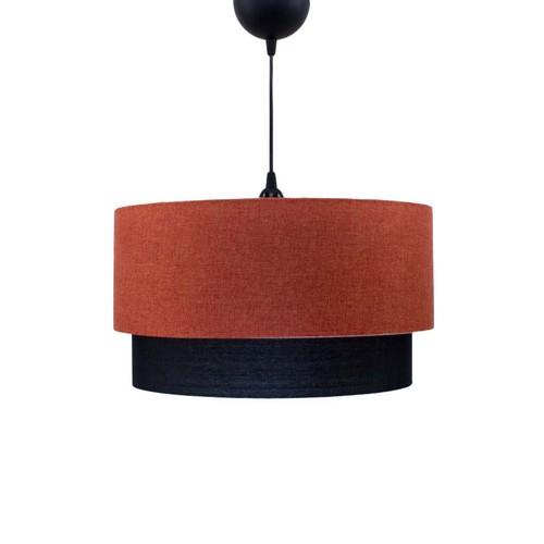 Fosforix Keten Turuncu-Siyah Sarkıt - 40 cm