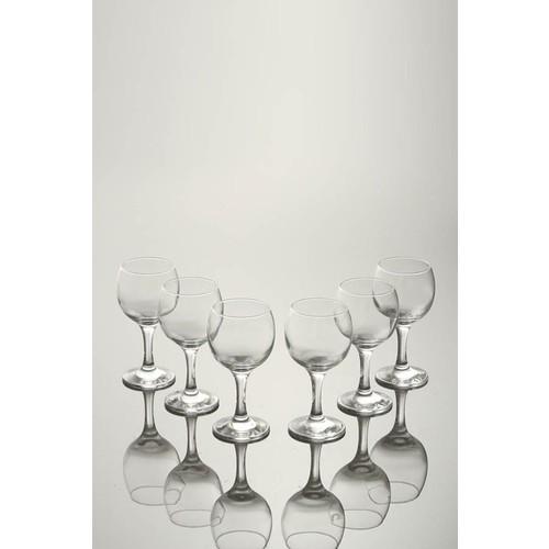 Paşabahçe Bistro Ayaklı Kırmızı Şarap Bardağı 6'lı