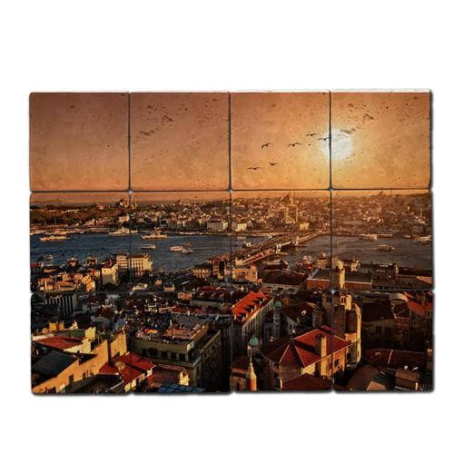 Oscar Stone İstanbul 3 Doğal Taş Tablo
