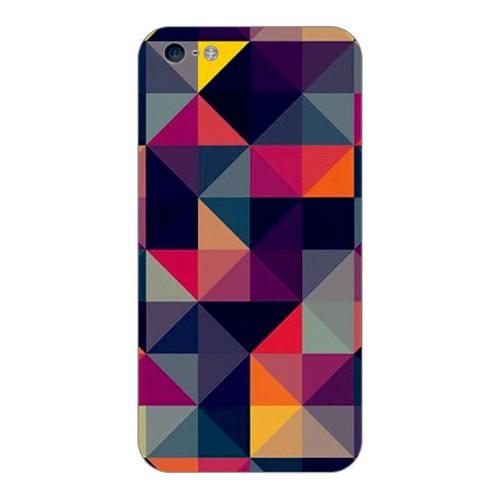 Bordo İphone 4S Kapak Kılıf Renkler Baskılı Silikon