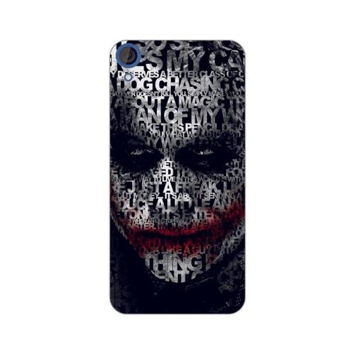 Bordo Htc Desire 828 Kapak Kılıf Baskılı Silikon
