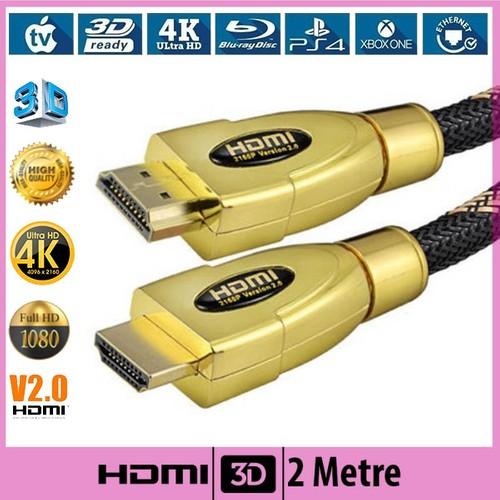 Ti-mesh HDMI Kablo V2.0 Ethernetli 3D Ultra HD - 2M