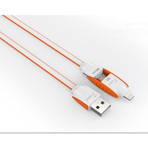 Ti-mesh 2in1 Şarj/Data Kablosu / LC83
