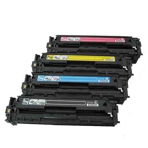 Calligraph Hp Color LaserJet Pro MFP CM1415fn 4 Renk Renkli Toner 4 lü Ekonomik Paket Muadil Yazıcı Kartuş