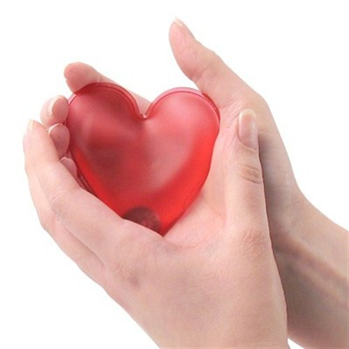 BuldumBuldum Heart Hot Packs - Sıcak Kalpler - Kırmızı