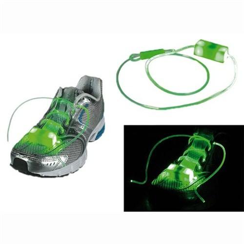 BuldumBuldum Flashing Led Shoe Laces - Yanıp Sönen Led Ayakkabı Bağcığı - Kırmızı