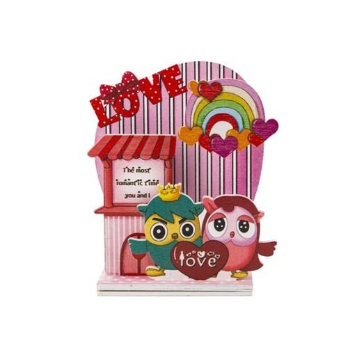 BuldumBuldum Aşk Kuşları Love Müzik Kutusu