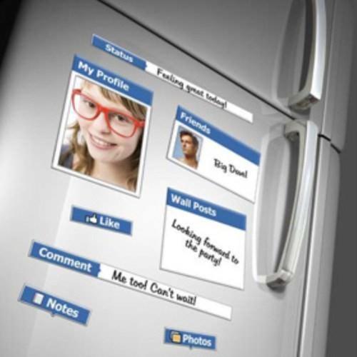 BuldumBuldum Fridge Book Magnets- Sosyal Medya Magnetleri