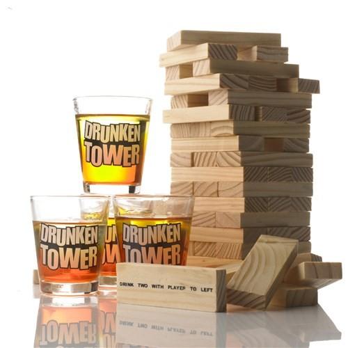 BuldumBuldum Drunken Tower - Shot Denge Oyunu