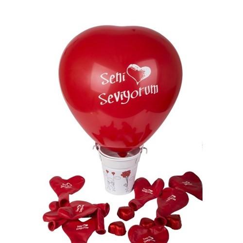 BuldumBuldum Aşk Dolu Balonlu Kova