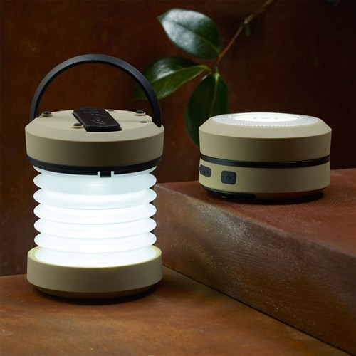 BuldumBuldum Rechargeable Led Lantern - Akordion Kamp Lambası