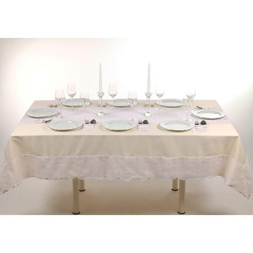 Le Pari Dantelle Jaune Raner'lı Masa Örtüsü - 160 x 220 cm