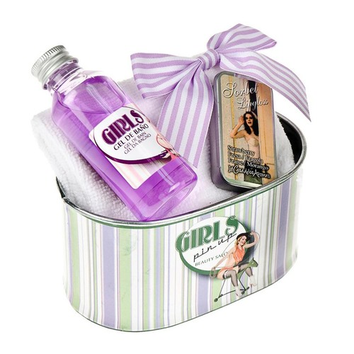Flor De Mayo Pin Up Hediye Seti - Lavanta