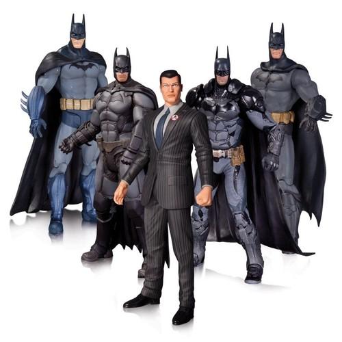 DC Collectibles Batman Arkham 5 Pack Action Figure Set