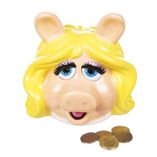 Half Moon Bay Miss Piggy Seramik Kumbara