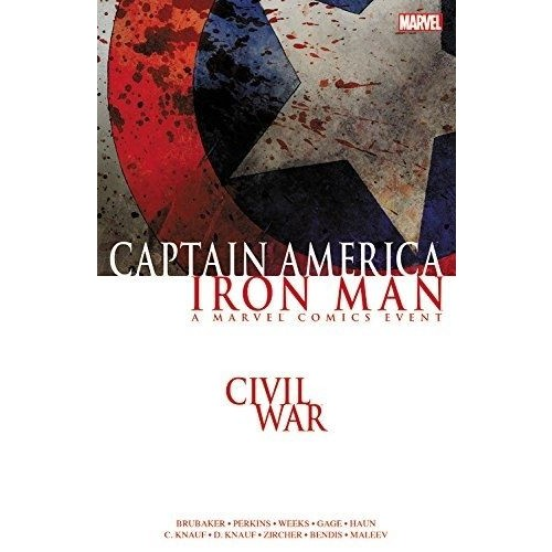 Marvel Comics Civil War: Captain America/Iron Man İngilizce Çizgi Roman