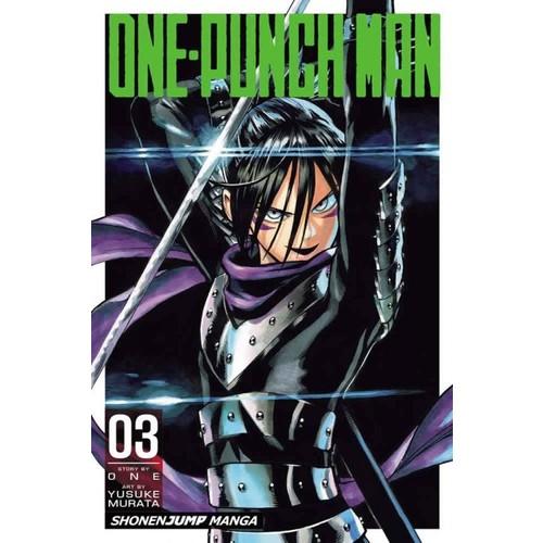 Viz Media One-Punch Man Volume 3 - Manga İngilizce Çizgi Roman