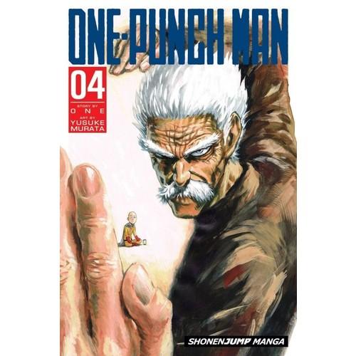 Viz Media One-Punch Man Volume 4 - Manga İngilizce Çizgi Roman