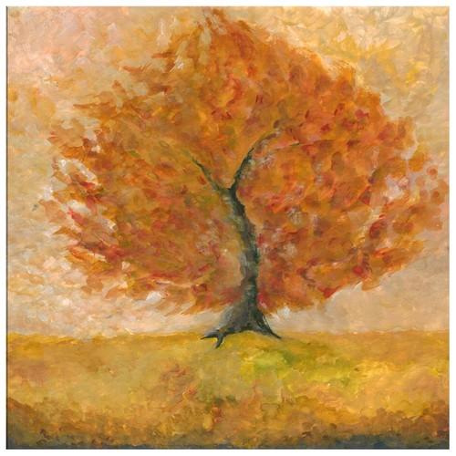 Arte Ağaç Kanvas Tablo