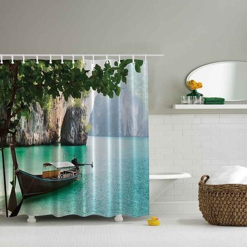Orange Venue 3D Baskılı Duş Perdesi